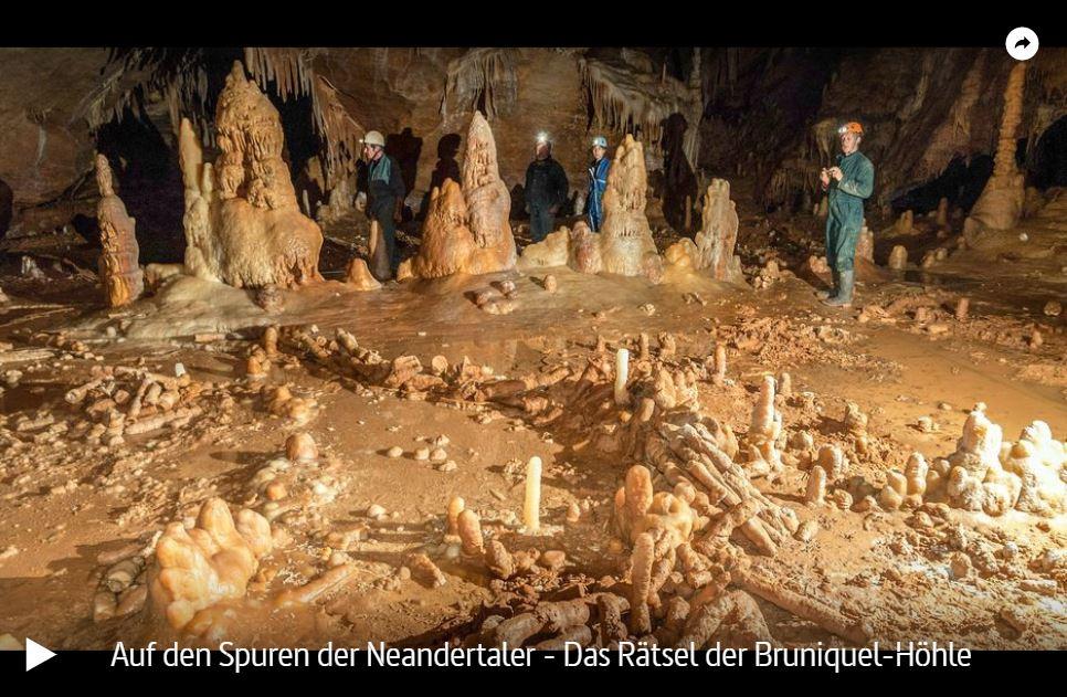 ARTE-Doku: Auf den Spuren der Neandertaler - Das Rätsel der Bruniquel-Höhle