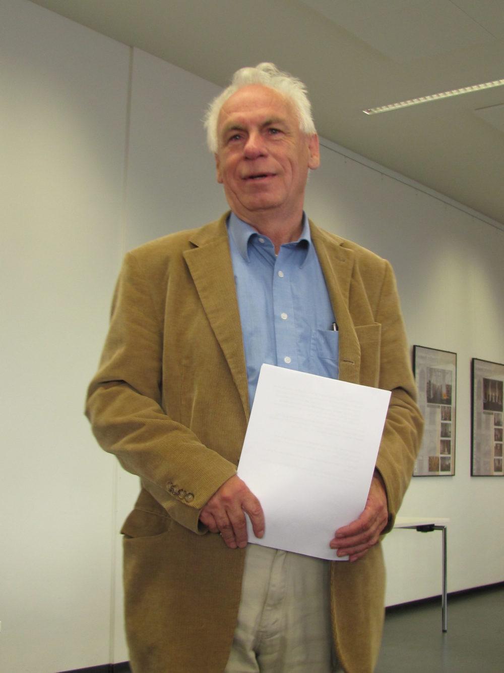 Günter Rieger beim Fontane-Kreis Leipzig: Der Prinz von Homburg mit dem silbernen Bein - Dichtung und Wahrheit
