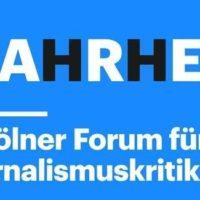 Kölner Forum für Journalismuskritik 2019