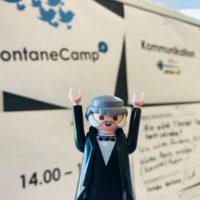 Premiere fürs #FontaneCamp in Potsdam - ORBANISM mit dem Theodor-Fontane-Archiv Potsdam