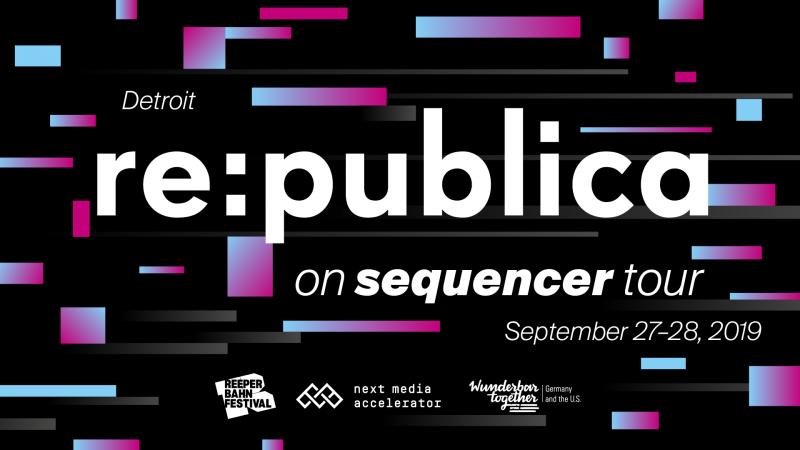 re:publica Sequencer Tour Detroit