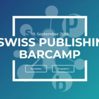 1. Swiss Publishing Barcamp 2019
