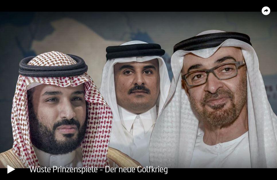ARTE-Doku: Wüste Prinzenspiele - Der neue Golfkrieg
