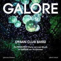 GALORE präsentiert: Urban Club Band #bookfest