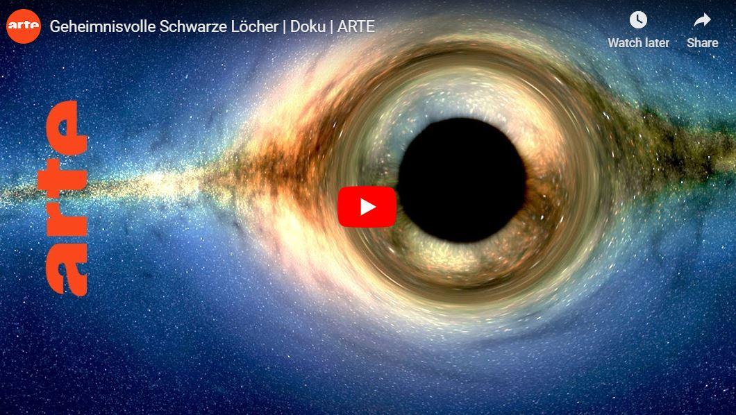 ARTE-Doku: Geheimnisvolle Schwarze Löcher