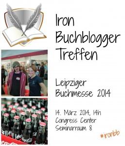 Iron-Buchblogger-Treffen auf der Leipziger Buchmesse 2014