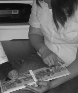 Auf GESCHICHTENWOLKE bloggt Miri über alles, was mit Kinder- und Bilderbüchern zu tun hat