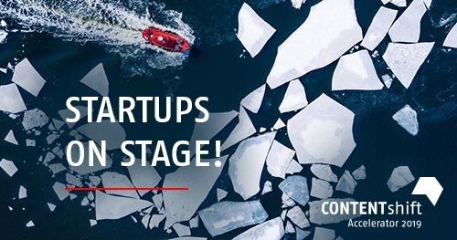 CONTENTshift finale: Startup Pitch Contest #cosh19
