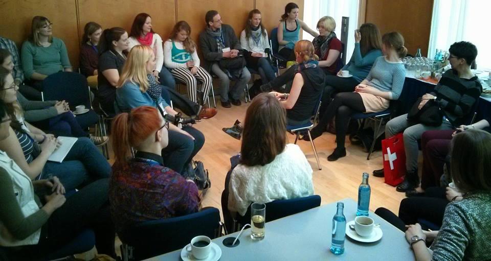 Iron-Buchblogger-Treffen auf der Frankfurter Buchmesse 2014