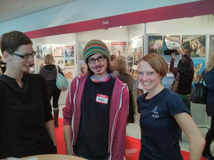 Erstes Ironbuchblogger-Treffen auf der Frankfurter Buchmesse 2013