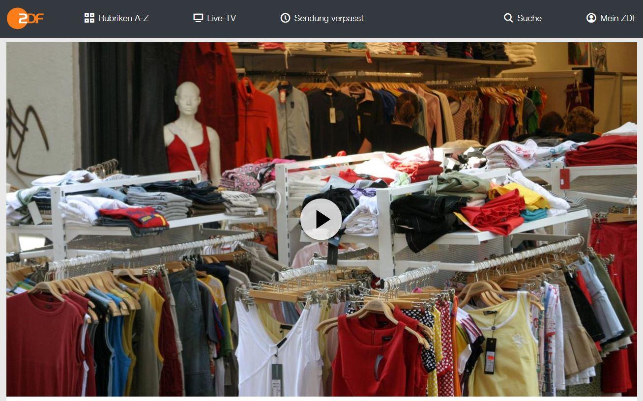 ZDF-Doku: Fast Fashion - Die Folgen des Modewahnsinns