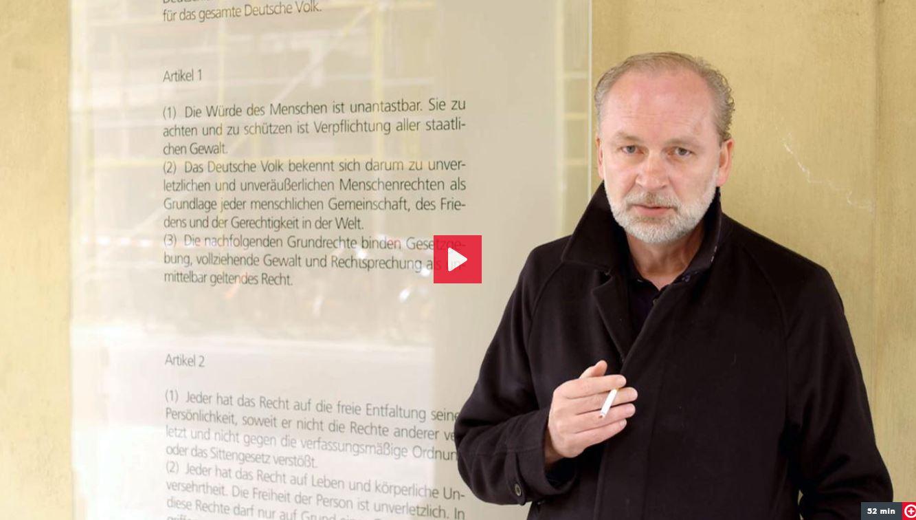 3sat-Doku: Ferdinand von Schirach - Die Würde des Menschen