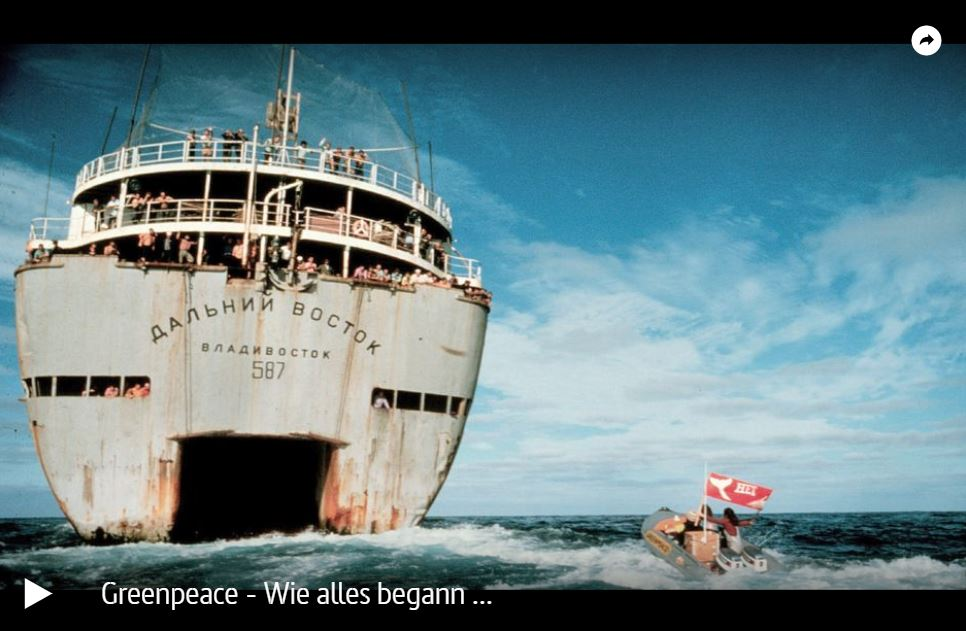 ARTE-Doku: Greenpeace - Wie alles begann ...