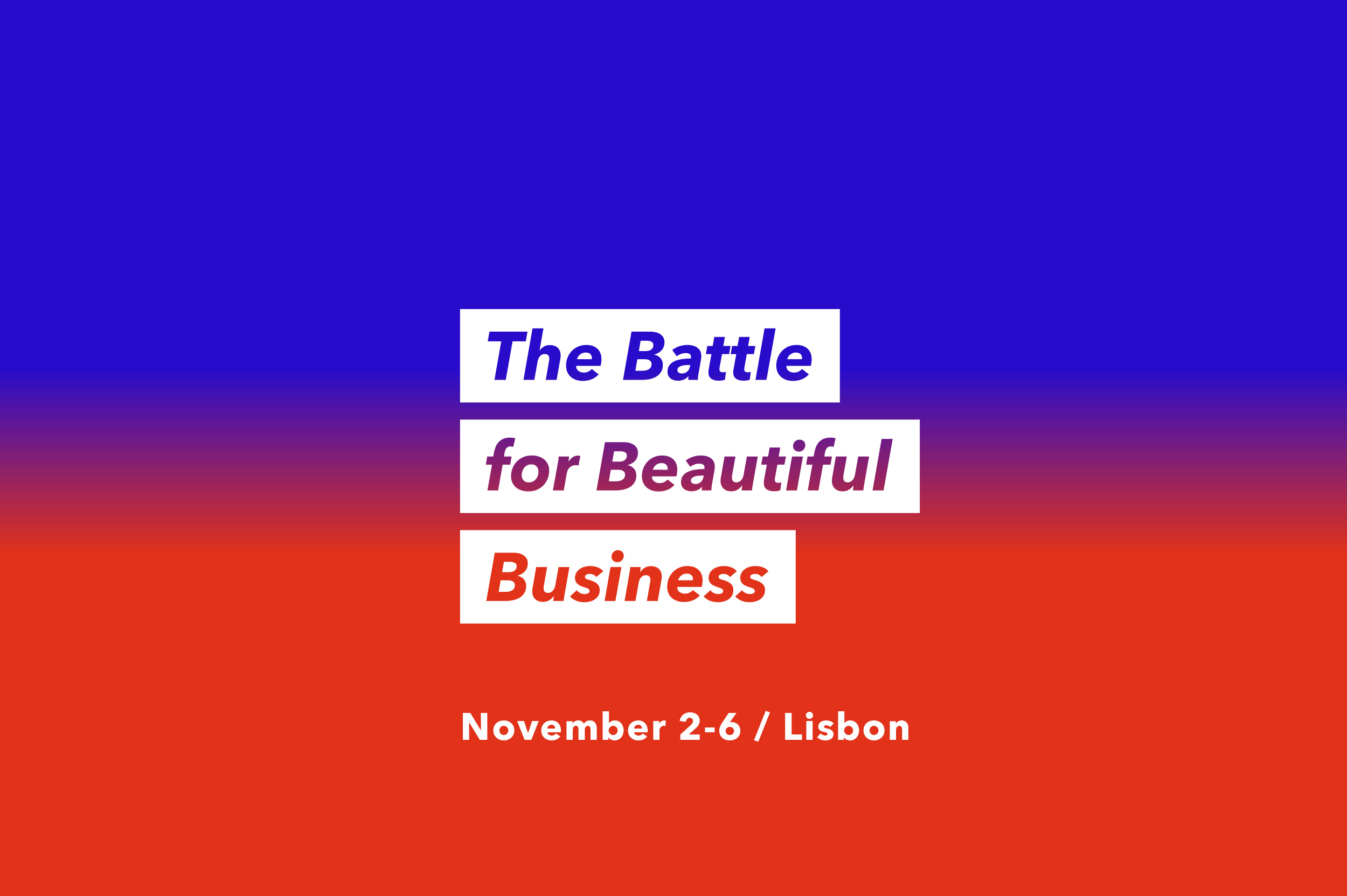 House of Beautiful Business 2019