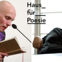 Regener meets Lentz - TEXT+KRITIK im Haus für Poesie