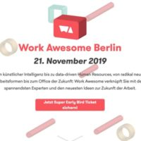 Work Awesome Berlin 2019