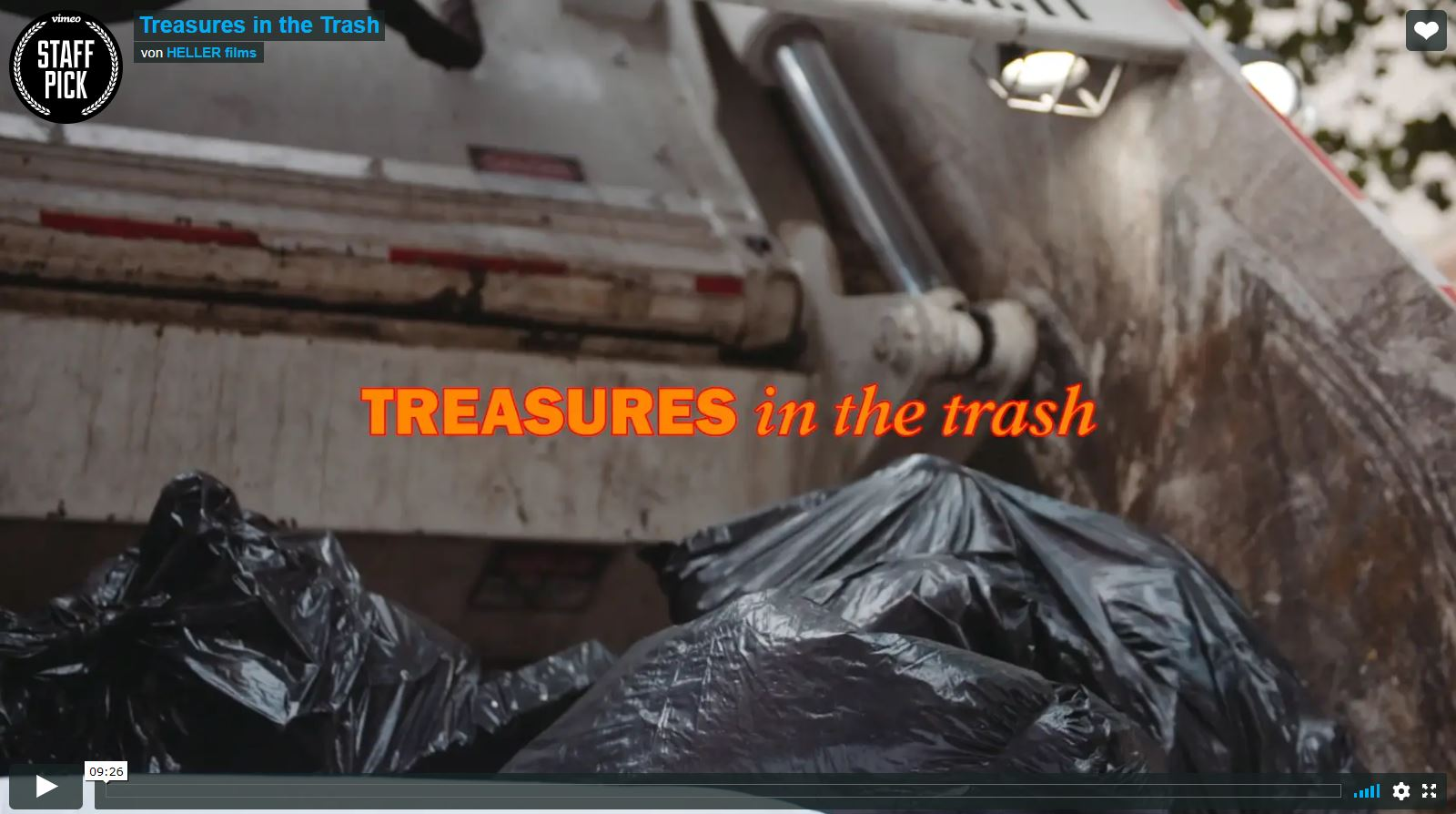 Kurzdoku: Das Museum des New Yorker Mülls