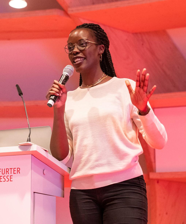 Anna Dushime, ORBANISM Kommunikationsfest 2019 Frankfurter Buchmesse