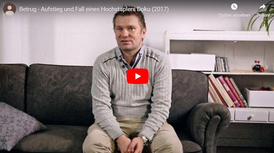 #DokuLiebe-Empfehlung von Leander Wattig: Betrug – Aufstieg und Fall eines Hochstaplers (SWR)