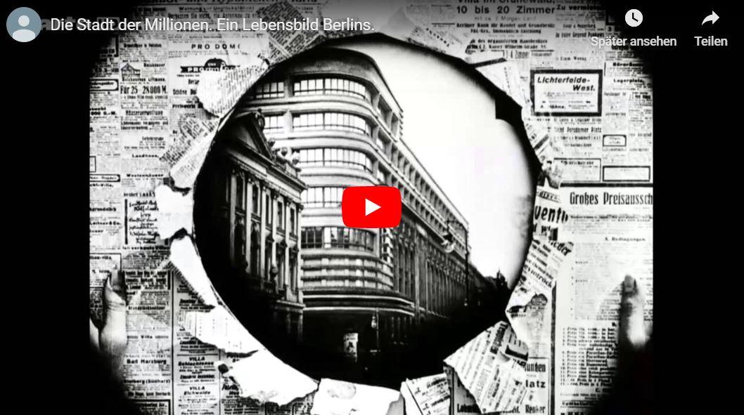 Ufa-Doku: Die Stadt der Millionen - Ein Lebensbild Berlins (1925)