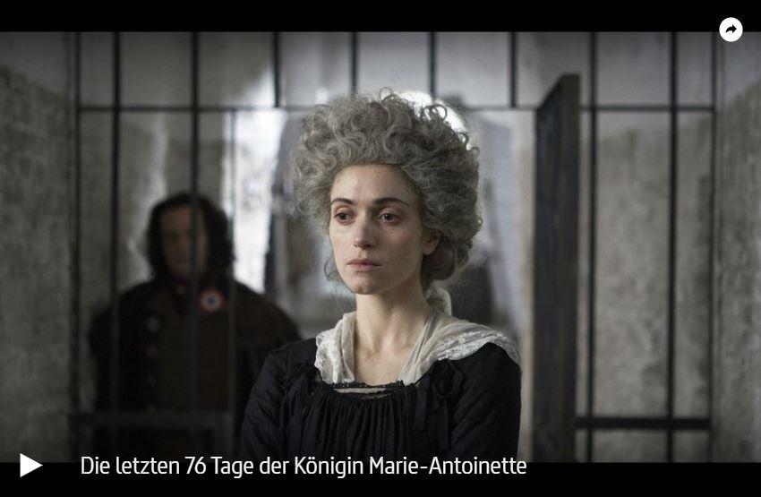 ARTE-Doku: Die letzten 76 Tage der Königin Marie-Antoinette