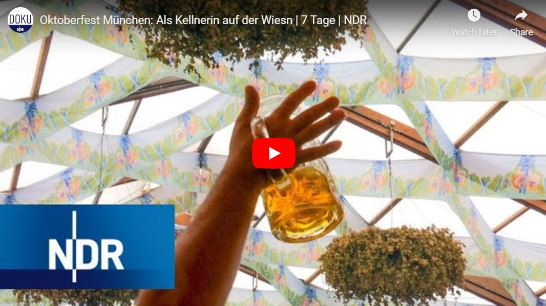 NDR-Doku, 7 Tage: Oktoberfest München - Als Kellnerin auf der Wiesn