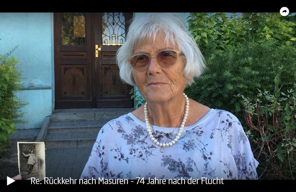 ARTE-/ZDF-Doku: Rückkehr nach Masuren - 74 Jahre nach der Flucht