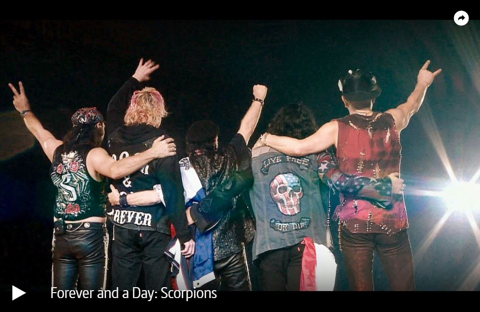 ARTE-/ZDF-Doku: Scorpions - Forever and a Day