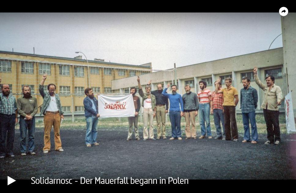 ARTE-Doku: Solidarnosc - Der Mauerfall begann in Polen