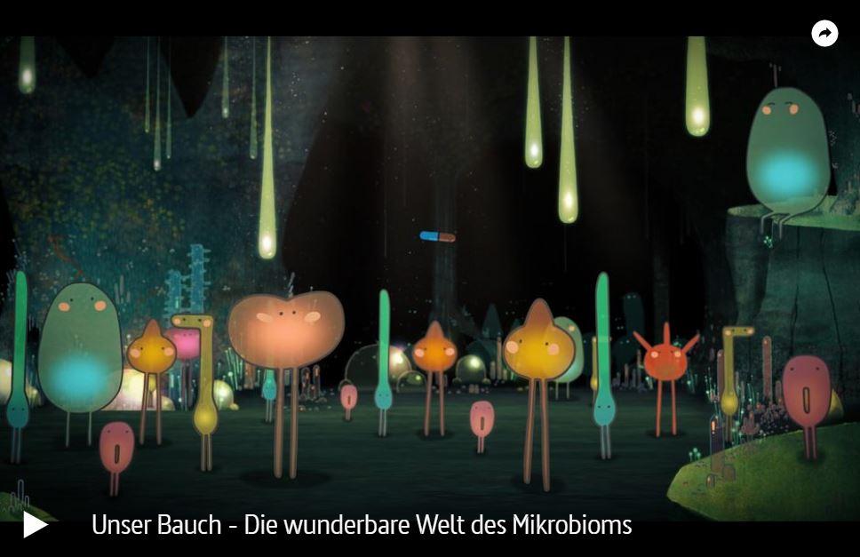 ARTE-Doku: Unser Bauch - Die wunderbare Welt des Mikrobioms
