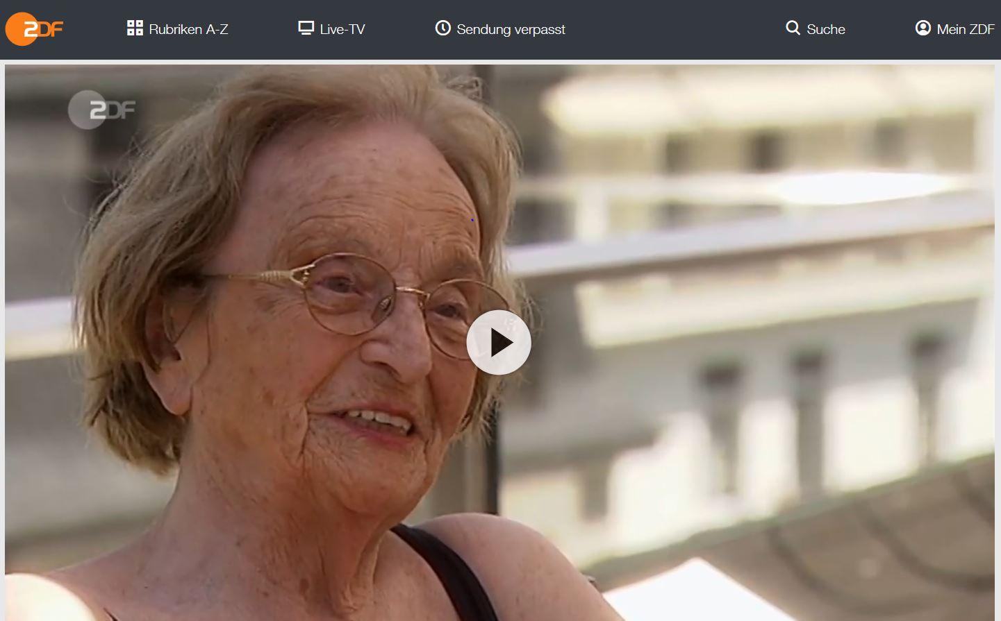 ZDF-Doku, 37 Grad: Plötzlich war ich 100 - Geheimnis eines langen Lebens