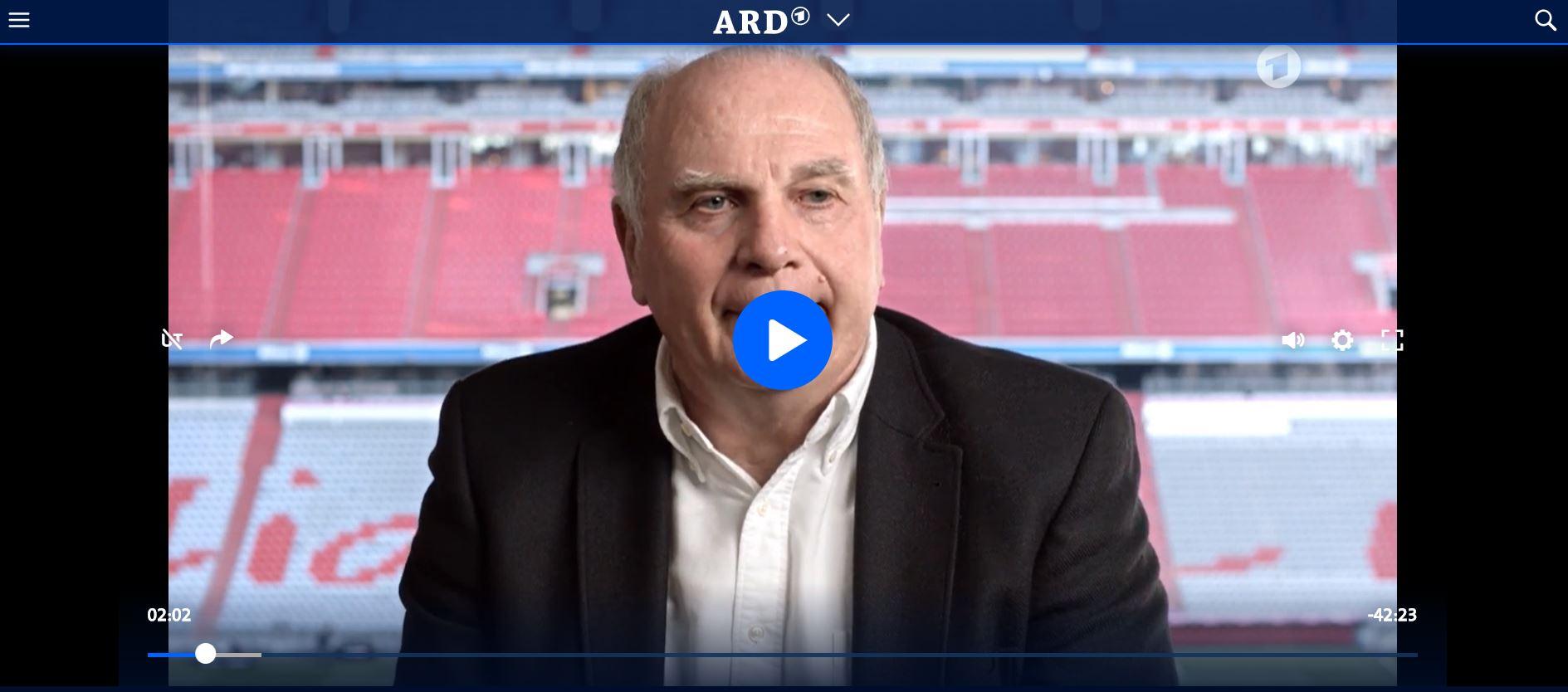 ARD-Doku: Der Bayern-Boss - Schlusspfiff für Uli Hoeneß