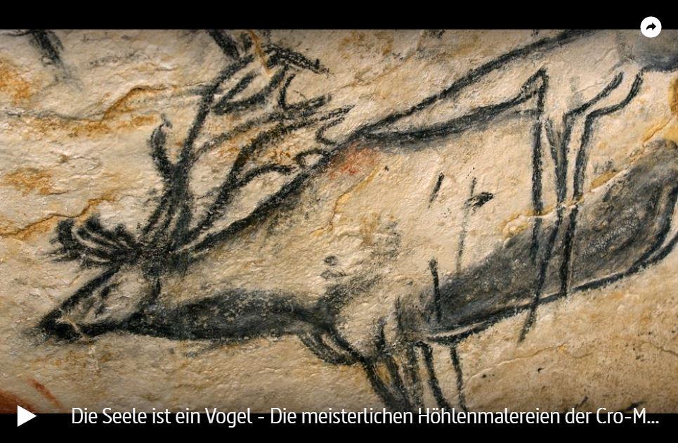 ARTE-Doku: Die meisterlichen Höhlenmalereien der Cro-Magnon-Menschen - Die Seele ist ein Vogel