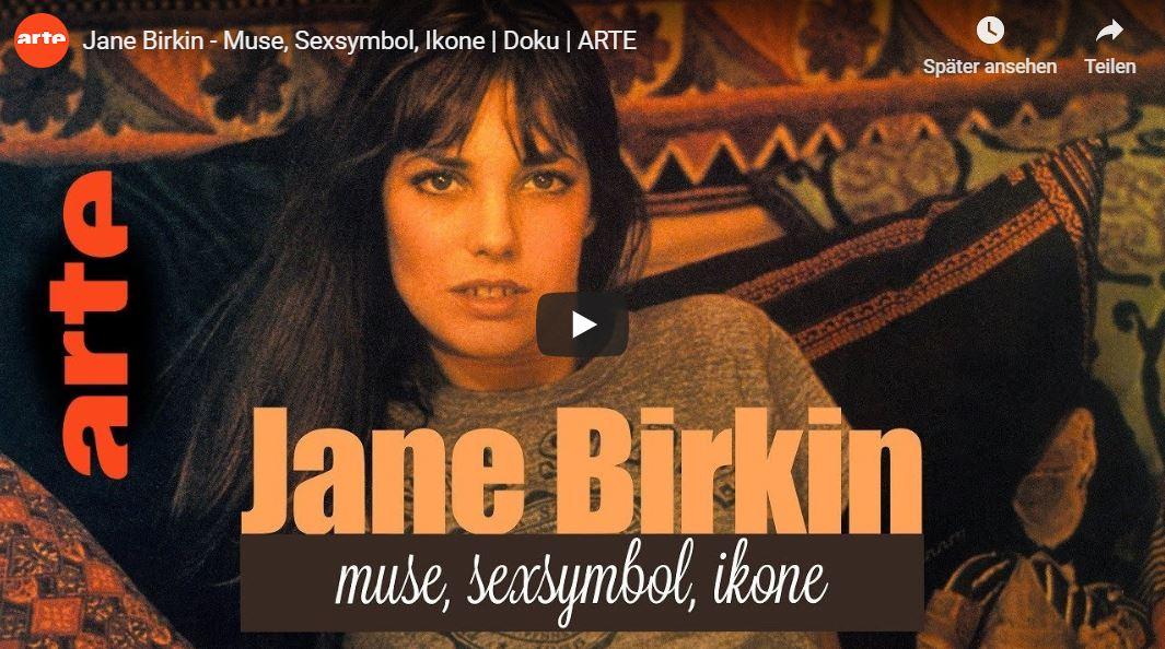 ARTE-Doku: Jane Birkin - Muse, Sexsymbol, Ikone