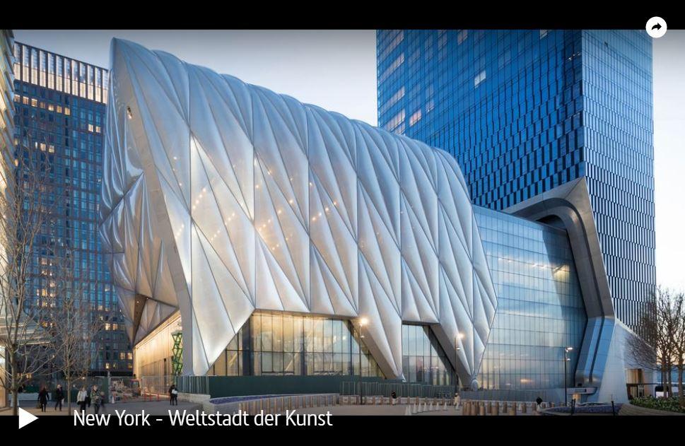 ARTE-/NDR-Doku: New York - Weltstadt der Kunst