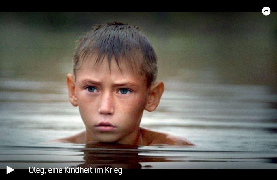 ARTE-/BR-Doku: Oleg, eine Kindheit im Krieg