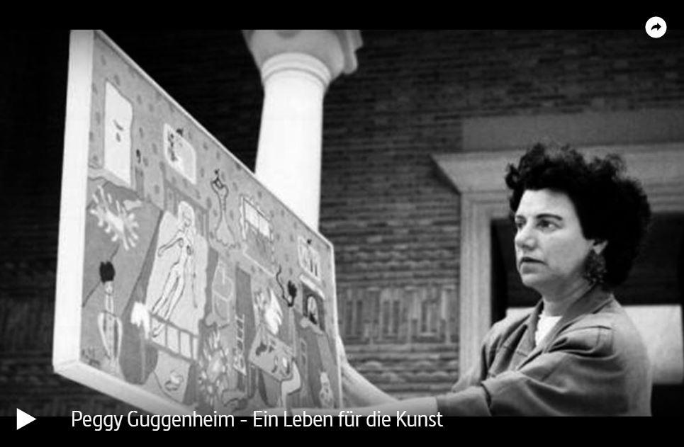ARTE-Doku: Peggy Guggenheim - Ein Leben für die Kunst