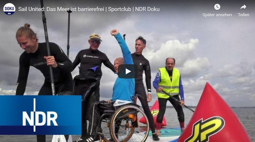 NDR-Doku: Sail United - Das Meer ist barrierefrei