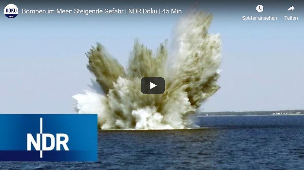 NDR-Doku: Bomben im Meer - Steigende Gefahr