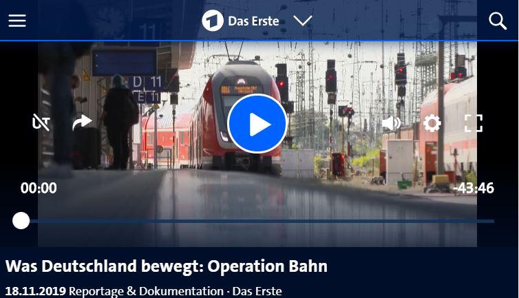 HR-Doku: Operation Bahn - Was Deutschland bewegt