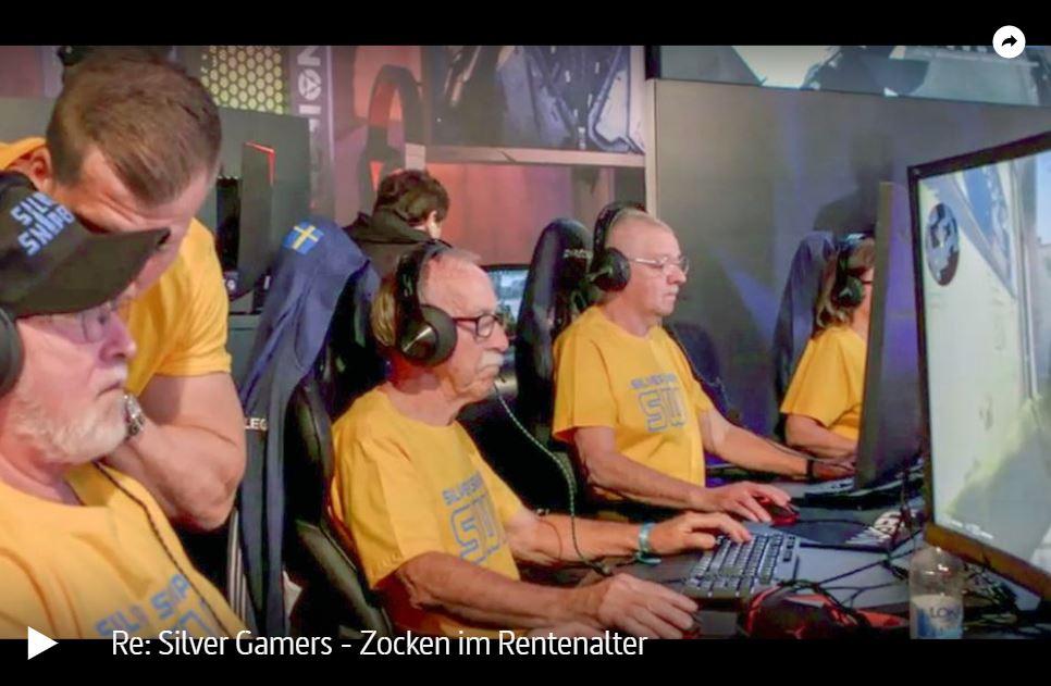 ARTE-Doku: Silver Gamers - Zocken im Rentenalter