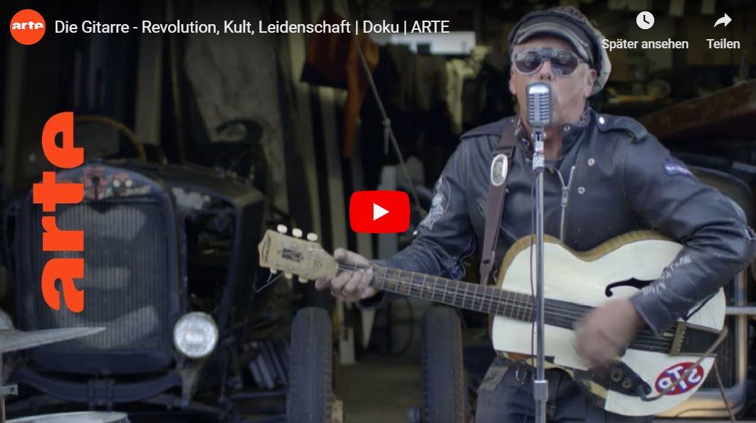 ARTE-Doku: Die Gitarre - Revolution, Kult, Leidenschaft