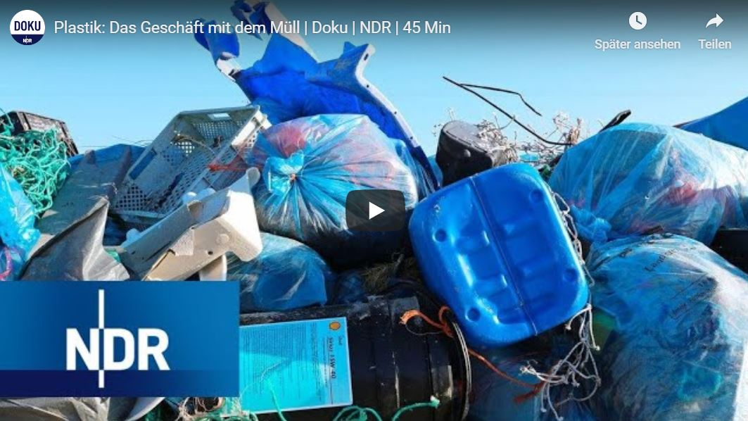 NDR-Doku: Plastik - Das Geschäft mit dem Müll