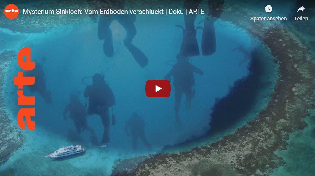 ARTE-Doku: Mysterium Sinkloch - Vom Erdboden verschluckt