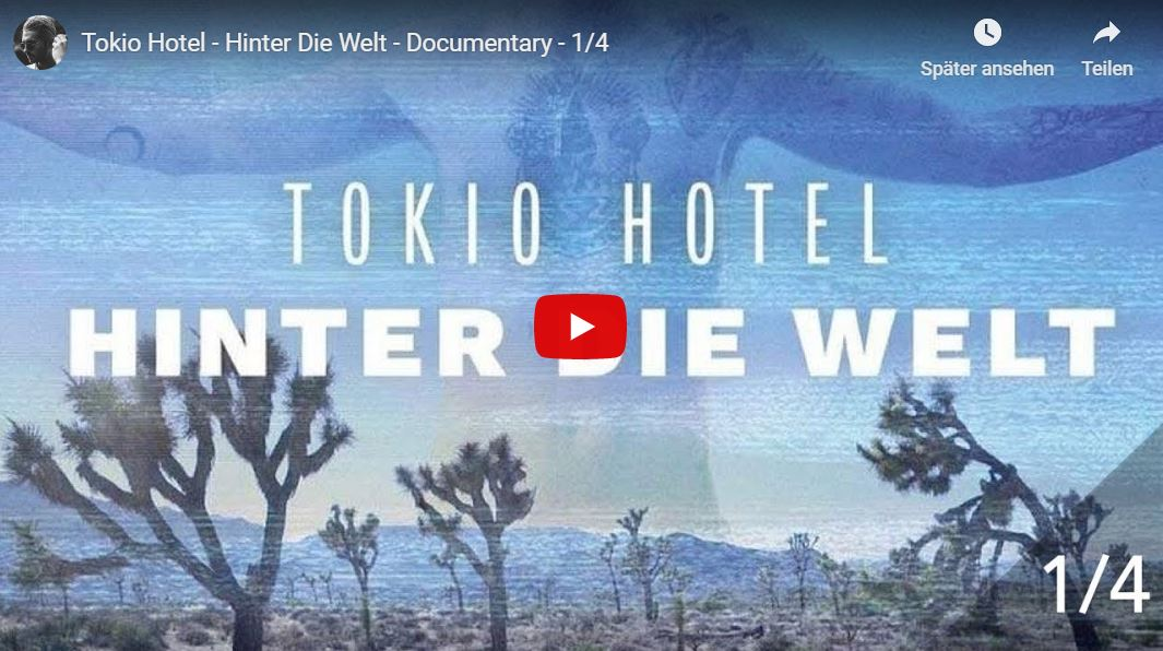 RBB-Doku: Hinter die Welt - Tokio Hotel