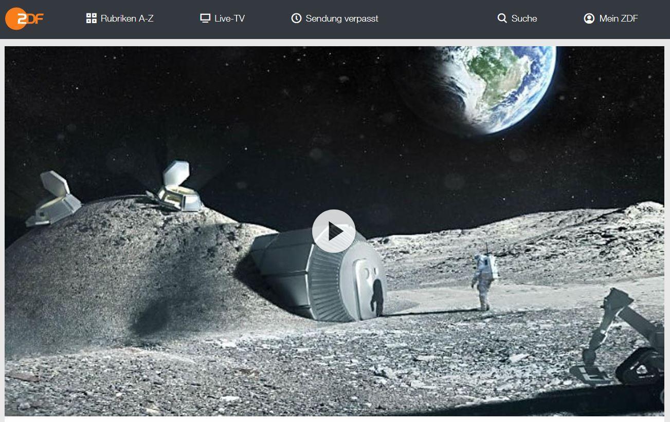 ZDF-Doku: Überleben auf dem Mond