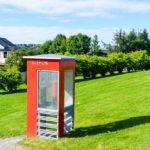 Norwegen macht Lesestationen aus alten Telefonzellen