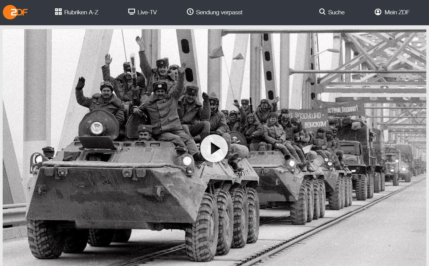 ZDF-Doku: Albtraum Afghanistan - Todeskampf der Sowjetunion
