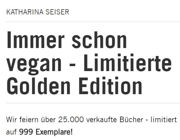 Golden Edition - Der Brandstätter Verlag vergoldet seine Bestseller