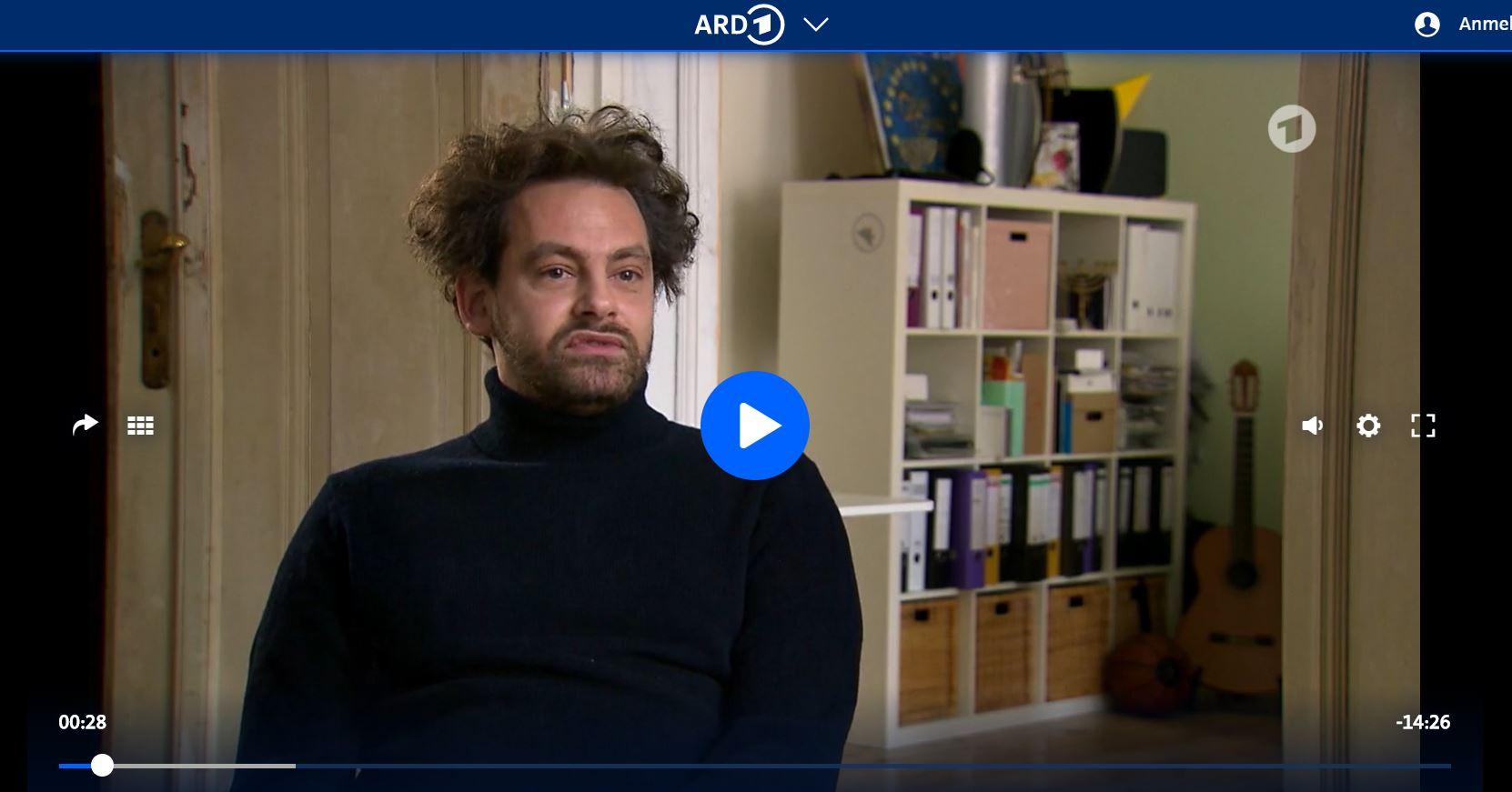 ARD-Doku: Jüdische Akzentsendung - Shai Hoffmann, der Mutmacher